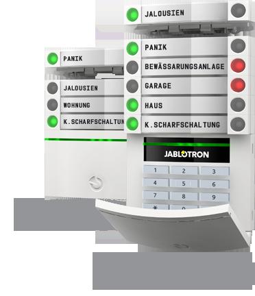 Jablotron 100 BUS Alarnanlage - Der Alarm Profi Einbruchschutz GmbH