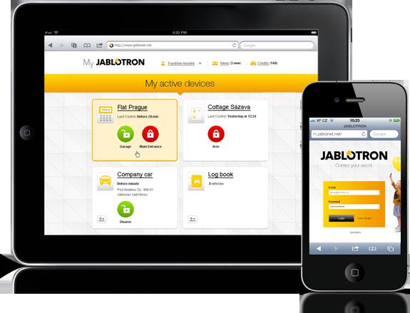 Steuerung Ihrer Alarmanlage per App - Der Alarm Profi Einbruchschutz GmbH