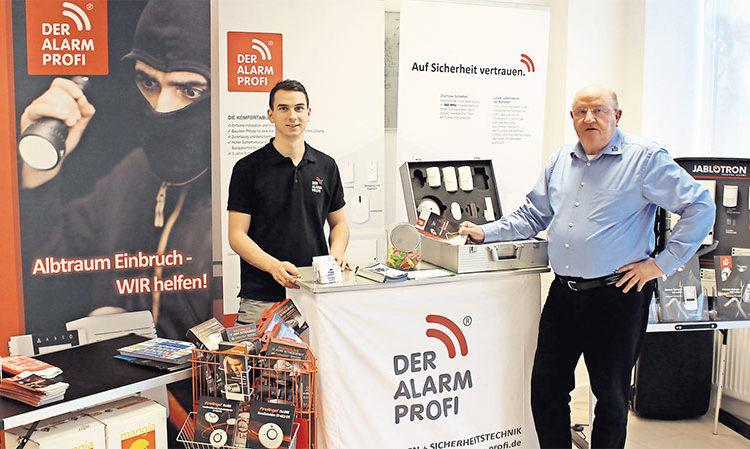 Der ALARM PROFI Einbruchschutz GmbH Auf Der Havelland Messe