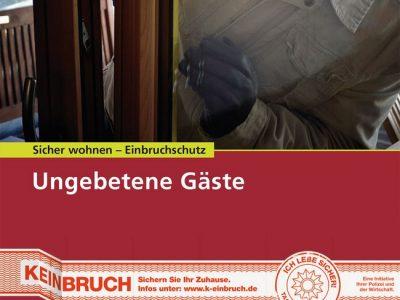 Kostenlose Broschüre Zum Thema Sicher Wohnen Und Einbruchschutz