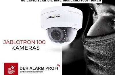 Innenkameras / Außenkameras Als Erweiterung Für Ihr Alarmsystem