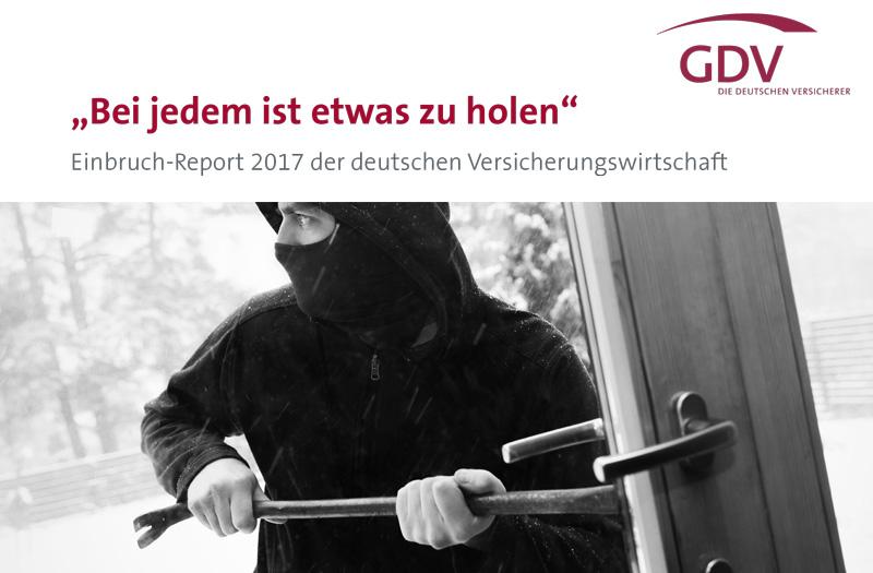 Einbruch-Report 2017 des GDV
