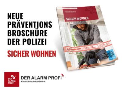 Sicher Wohnen: Broschüre Zum Einbruchschutz Neu Aufgelegt